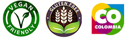 Gluteen Free, Organic Product, CO Colombia